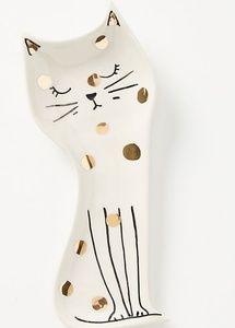 Anthropologie Kitchen - 💥LAST ONE💥 NWT | Anthro Polka Dot Cat Spoon Rest